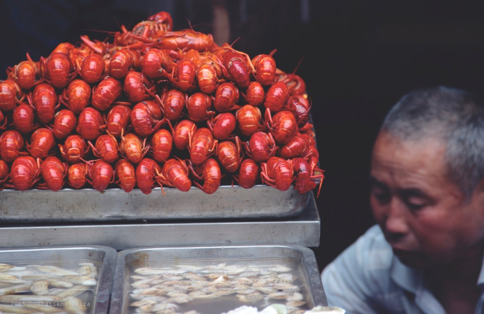China: Street food at the Old Town, Shanghai (3)
