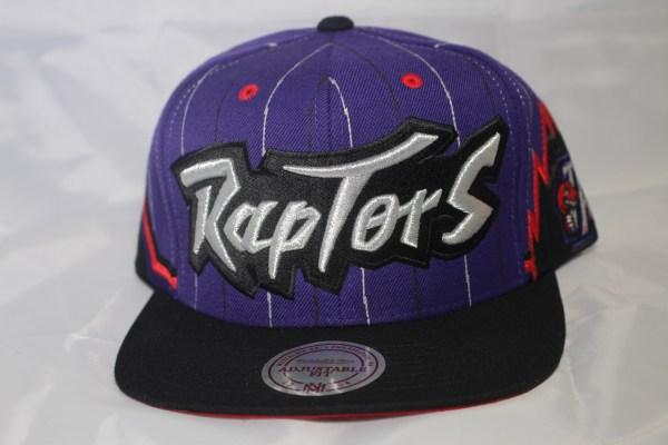 Mitchell and Ness NBA Toronto Raptors 2T 1995 Uniform Away Snapback Cap