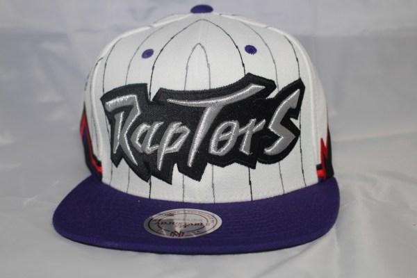 Mitchell & Ness NBA Toronto Raptors 2T 1995 Uniform Home Snapback Cap