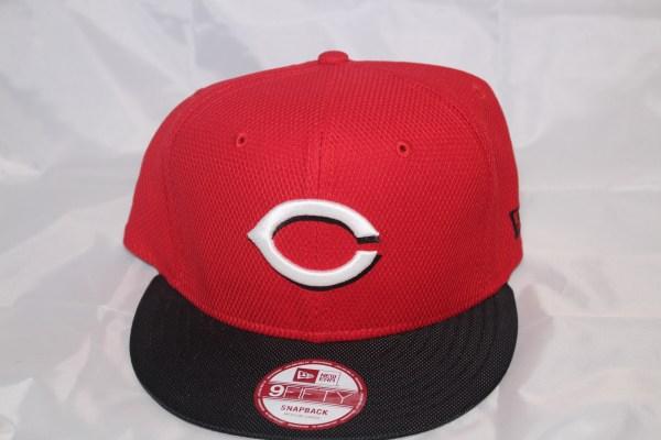 New Era MLB Cincinnati Reds MAXD Out 9FIFTY Snapback Cap