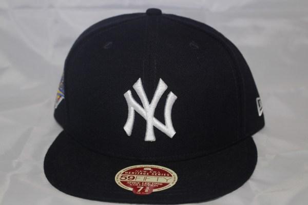 New Era MLB 1996 New York Yankees Heritage Series Spike Lee Fitted Baseball Cap