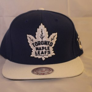 Mitchell and Ness Toronto Maple Leafs NHL XL Logo Cap