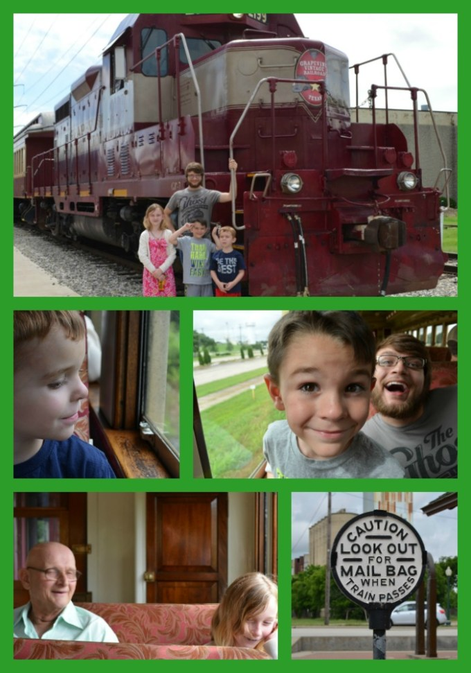 Train Collage