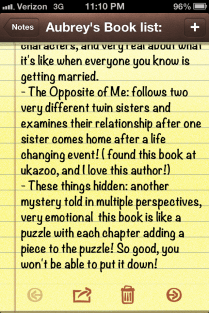 Clearly I describe books well....