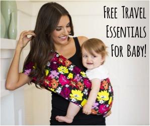 Baby Travel Free Stuff at NeverEndingJourneys.com