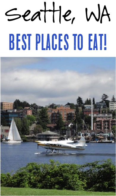 Seattle Washington Best Places to Eat - Best Coffee, Best Brunch, Best Seafood and more