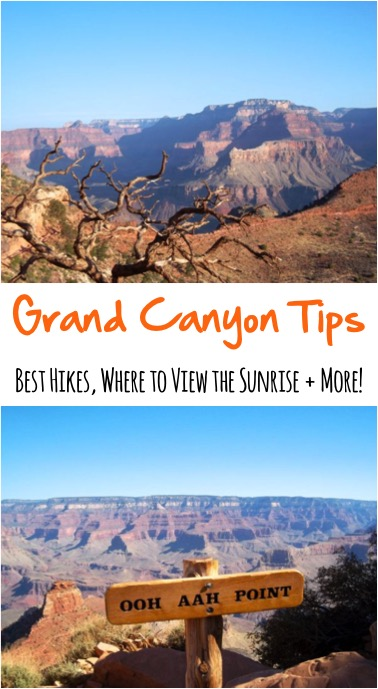 Grand Canyon Travel Tips - from NeverEndingJourneys.com