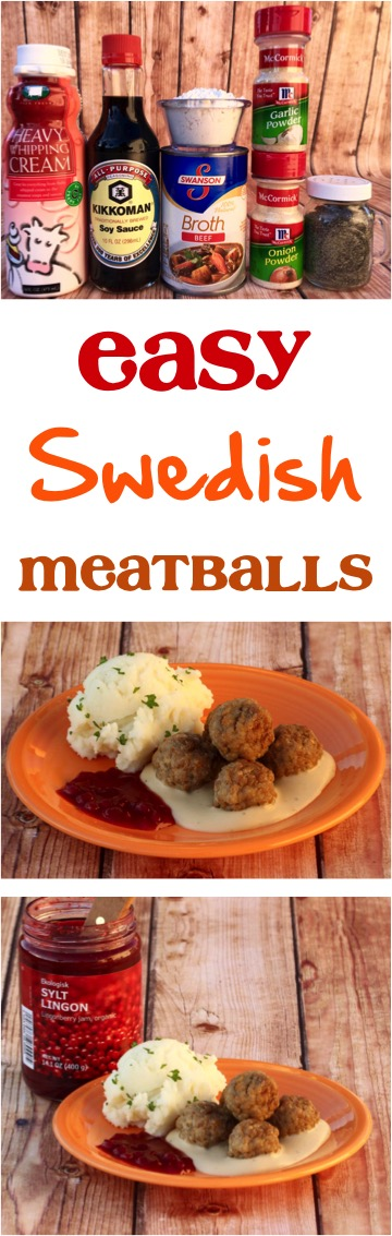 Easy Swedish Meatballs Recipe from NeverEndingJourneys.com