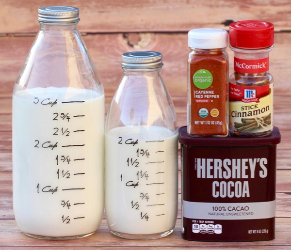 Easy Mexican Hot Chocolate Recipe by NeverEndingJourneys.com