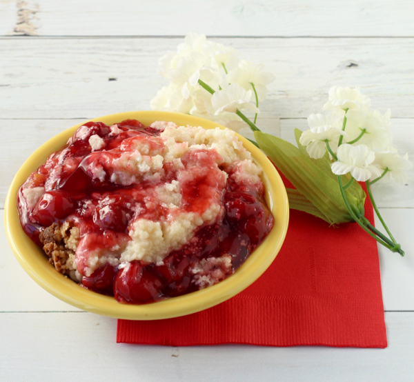 Cherry Cheesecake Cobbler