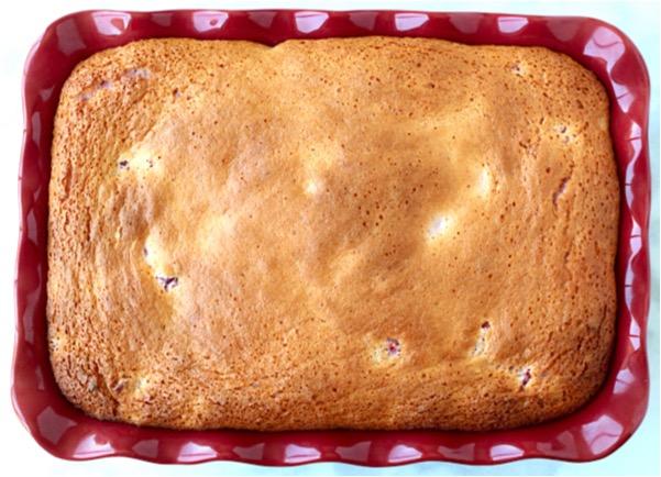 3 Ingredient Cherry Angel Food Cake Recipe