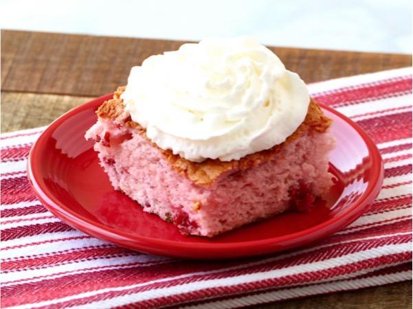 The Best Cherry Angel Food Cake Recipe