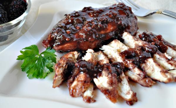Blackberry Jam Chicken Recipe