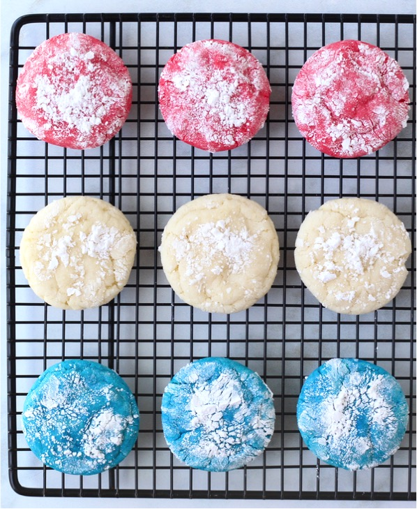 Tasty Red White and Blue Cookies