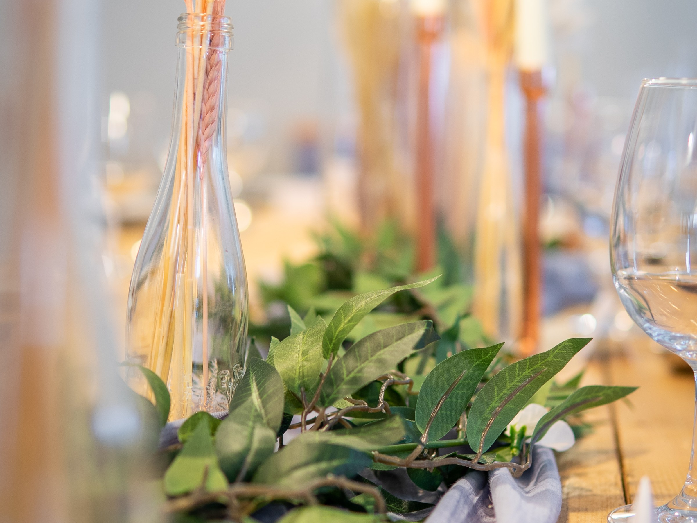 pampass grass cheesecloth chair sashes table dressing wedding decor wedding photography wedding photographer