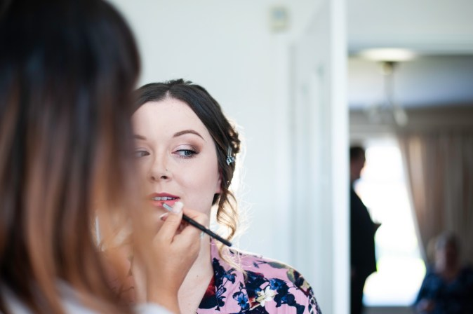 bridal makeup wedding