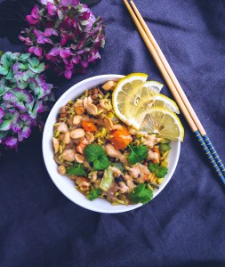 Fried Rice with Sweet Potato