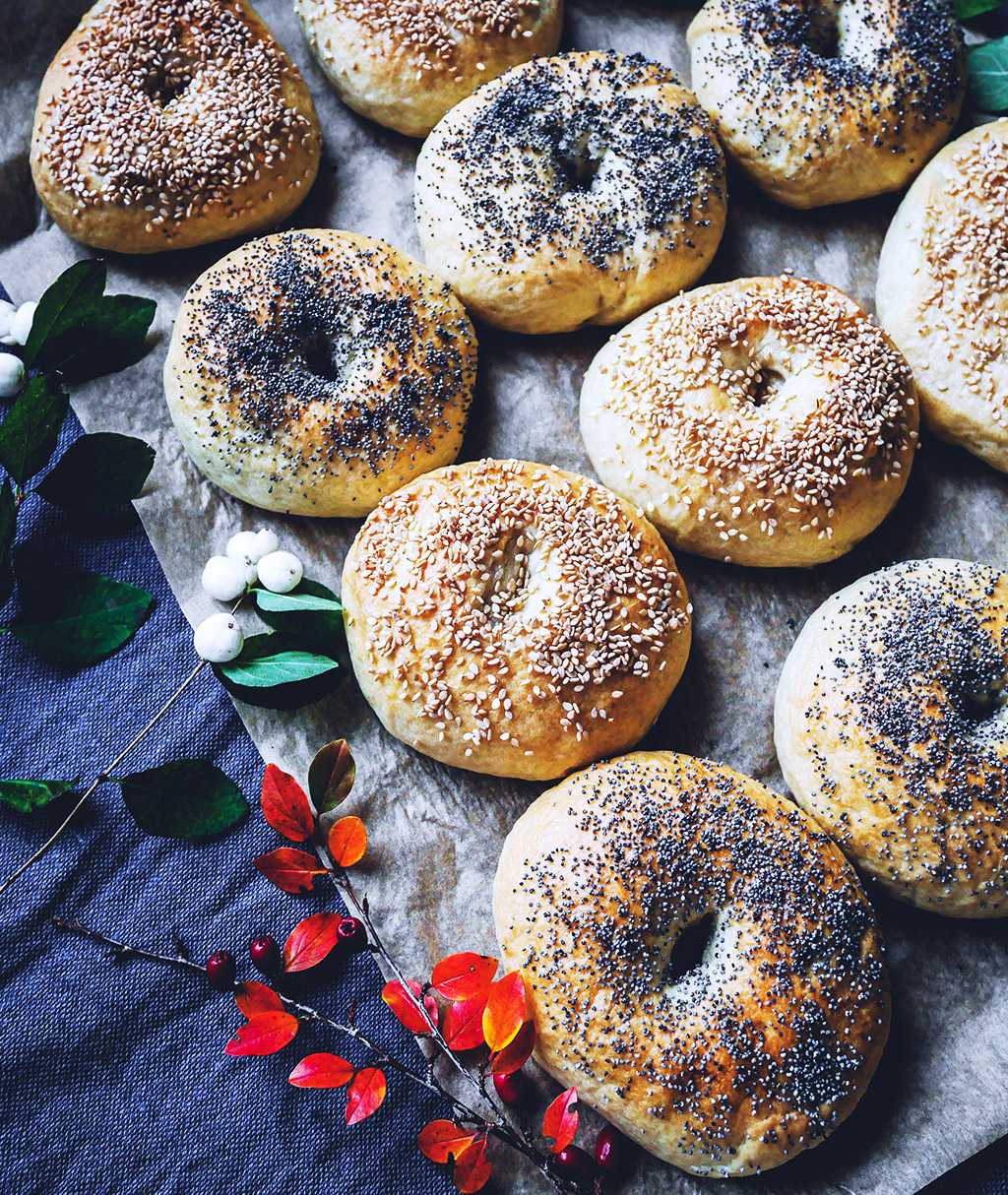 Bagels – step by step