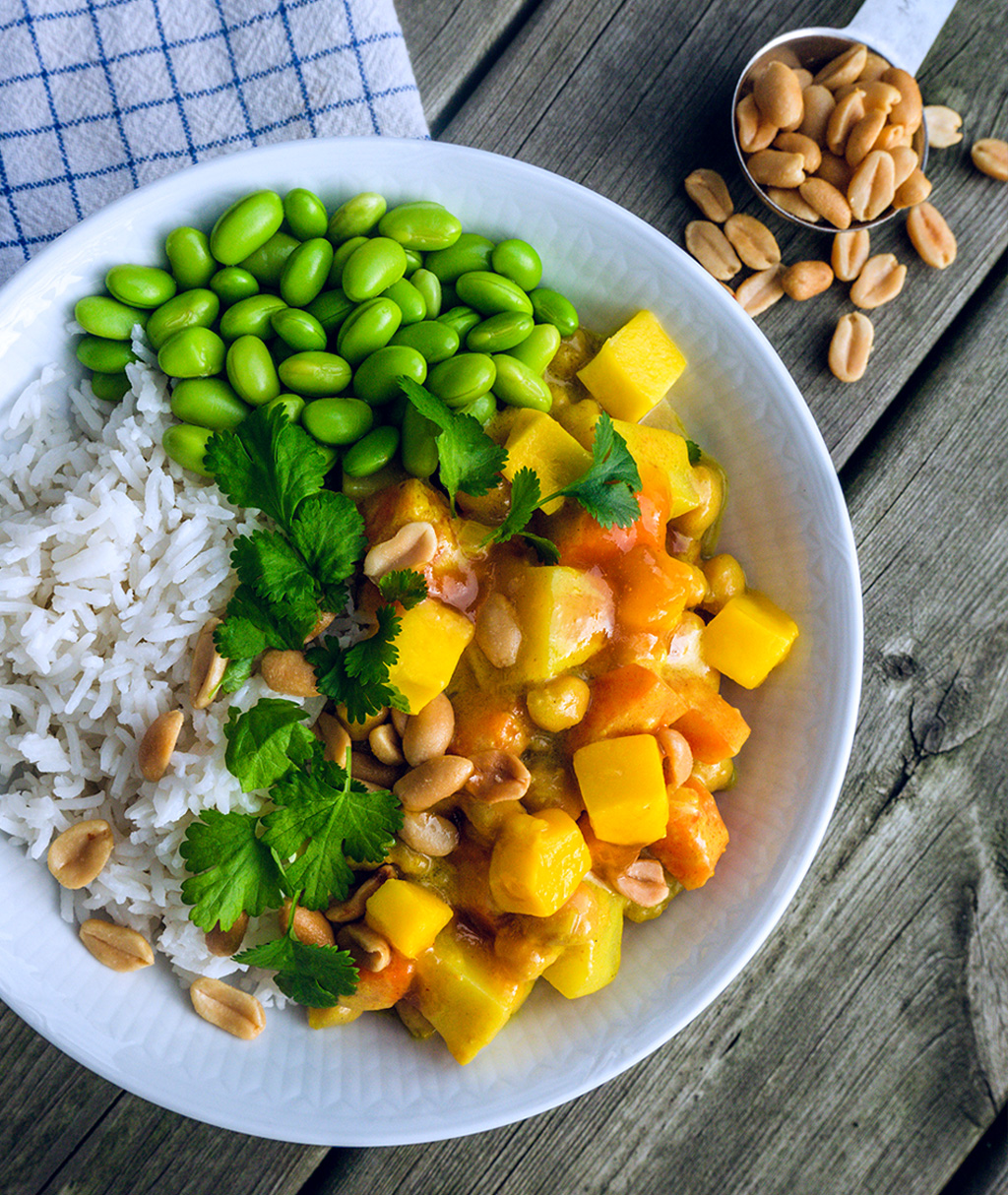 Mango Peanut Curry