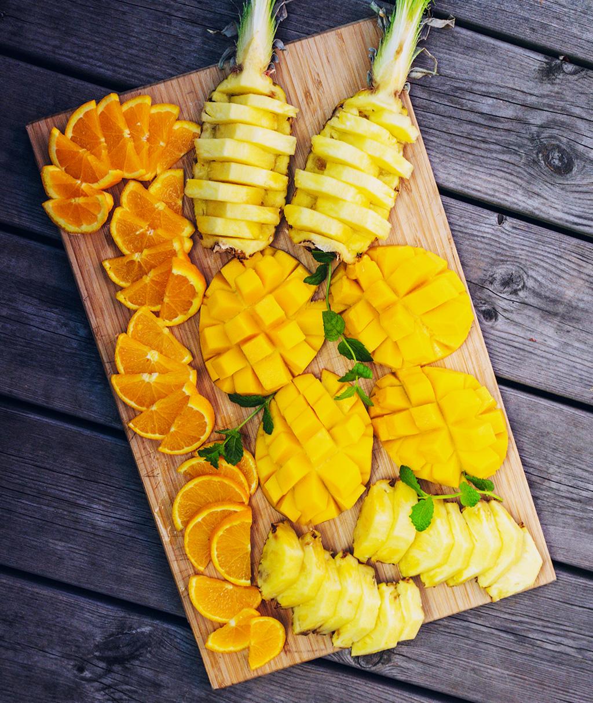 Mango Fruit Platter