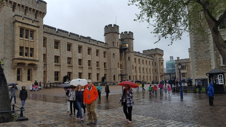 The building holding the Crown Jewels