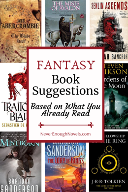 fantasy book recommendations