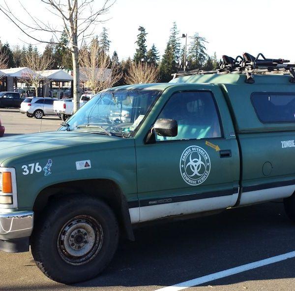 2014 Zombie Incident Response Truck