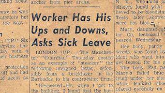 Bricklayer injury story