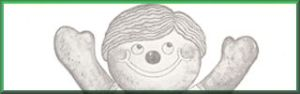 U&I Sugar's Gingerbread Boy Mascot 1965