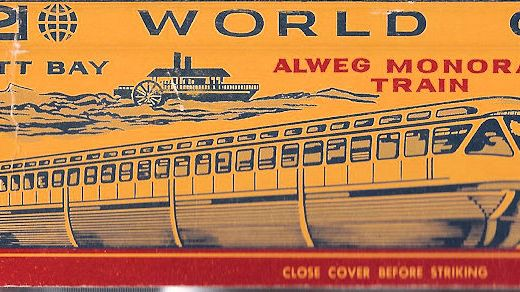 Seattle Monorail was a novelty in 1962