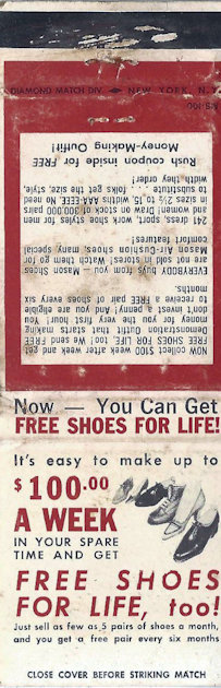 Mason Shoe sales, free shoes for life