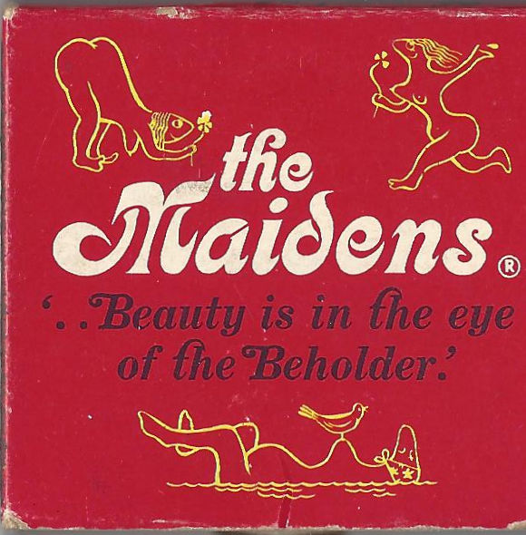 The Maidens Matchbox featuring a trip to a nude beach