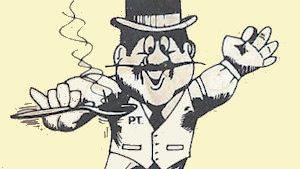 P.T. Nasty, restaurant mascot