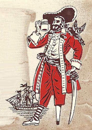 Buccaneer Inn standard pirate dude