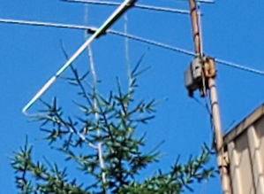 The old TV antenna rotator on my roof.
