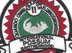 Possum Lodge official patch