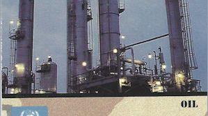 Desert Storm Trading Card: Oil