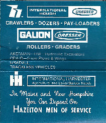Hazelton heavy equipment