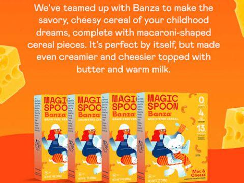 Magic Spoon Mac & Cheese cereal