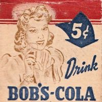 1940's Bob's Cola matches