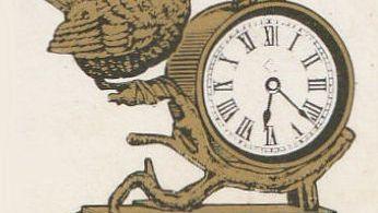 Clock series book matches
