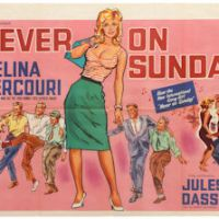 Never On a Sunday Movie Poster free