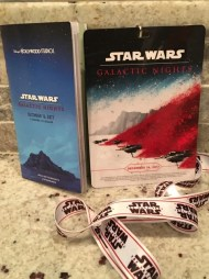 Star Wars Galactic Nights Credentials