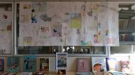 Santa Lucia e Bob Birillo appesi in biblioteca a Soiano
