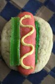 Chicago Hot Dog Sugar Cookie