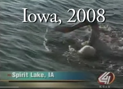 Spirit Lake Iowa Record Swim Great Weather Healthy Videos