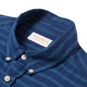 Hawskmill-Japanese Stripe Shirt 2