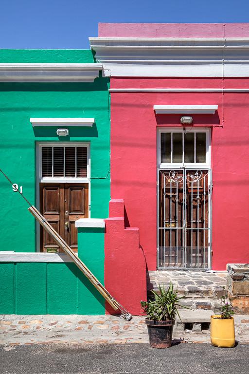 Two doors in Bo Kaap