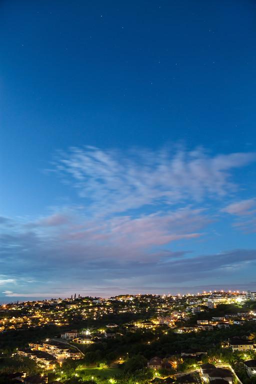 First light - toward Durban