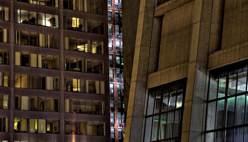 Sliver of a building